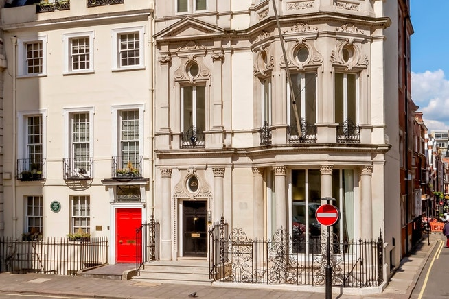 23 Berkeley Square Mayfair - commercial property historical facade