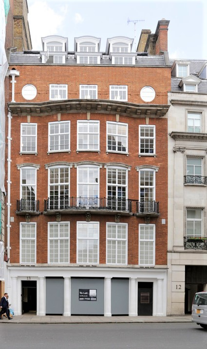 13 Berkeley Street, London, W1 – 5th floor