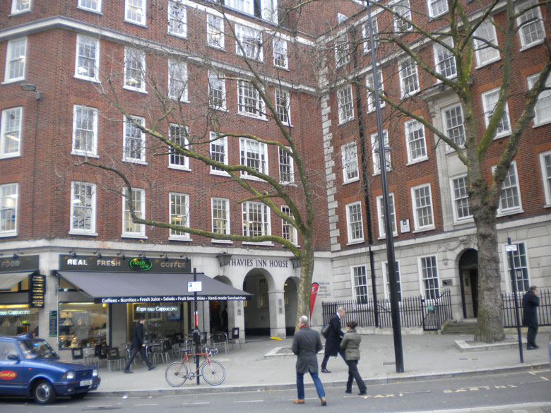 THAVIES INN HOUSE, 3 – 4 HOLBORN CIRCUS, LONDON EC1