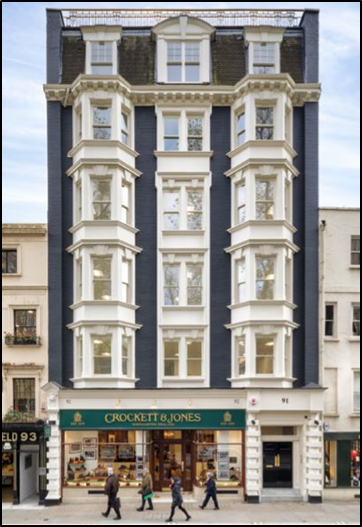 St James's Letting – 91 Jermyn Street