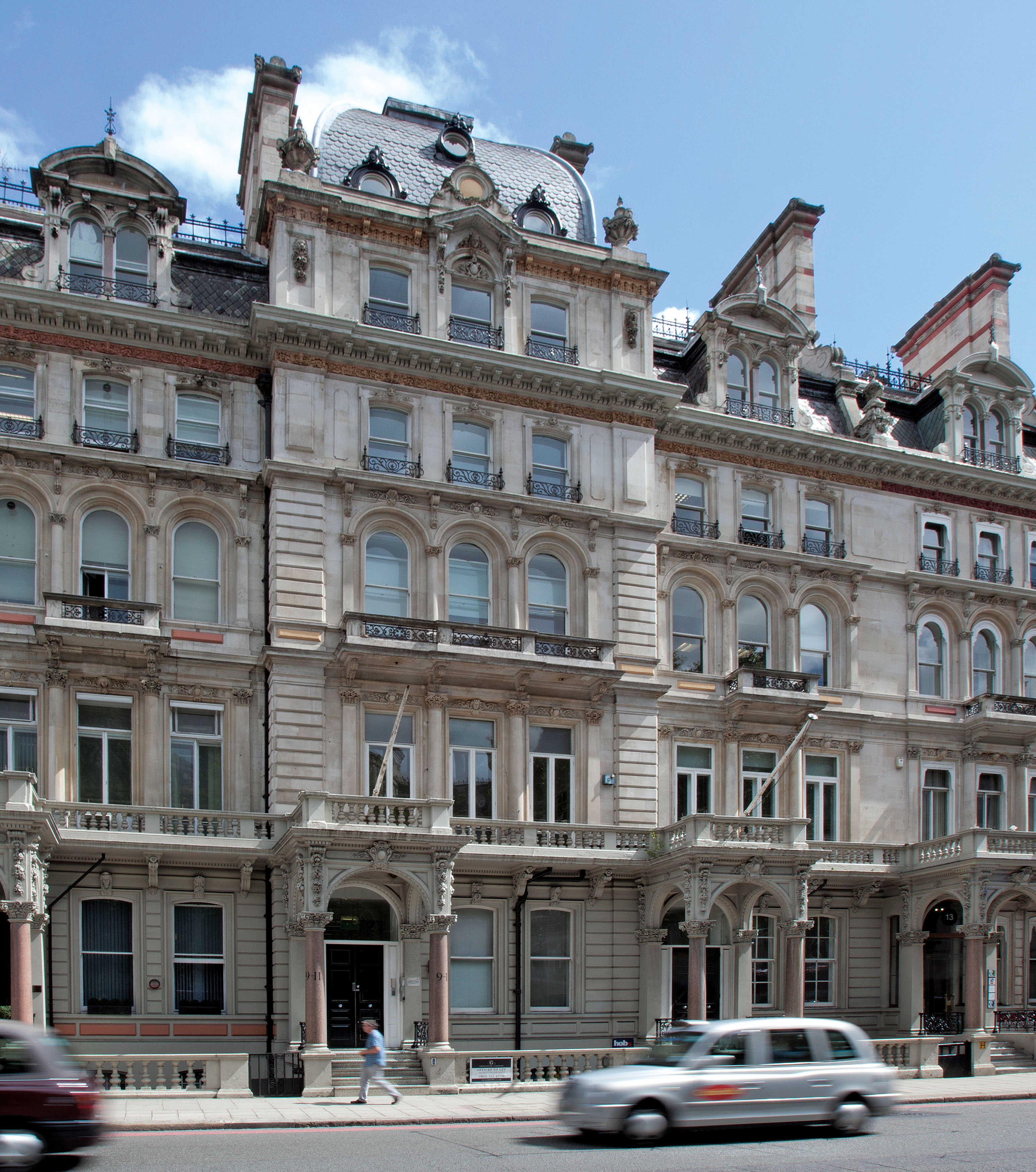 Last letting in 9-11 Grosvenor Gardens Assists Sale Process