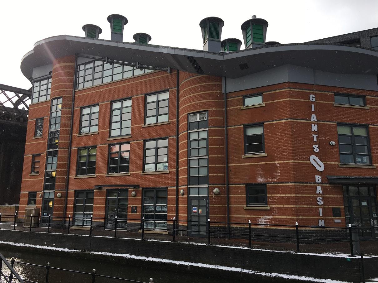 Giants Basin Potato Wharf Castlefield Manchester