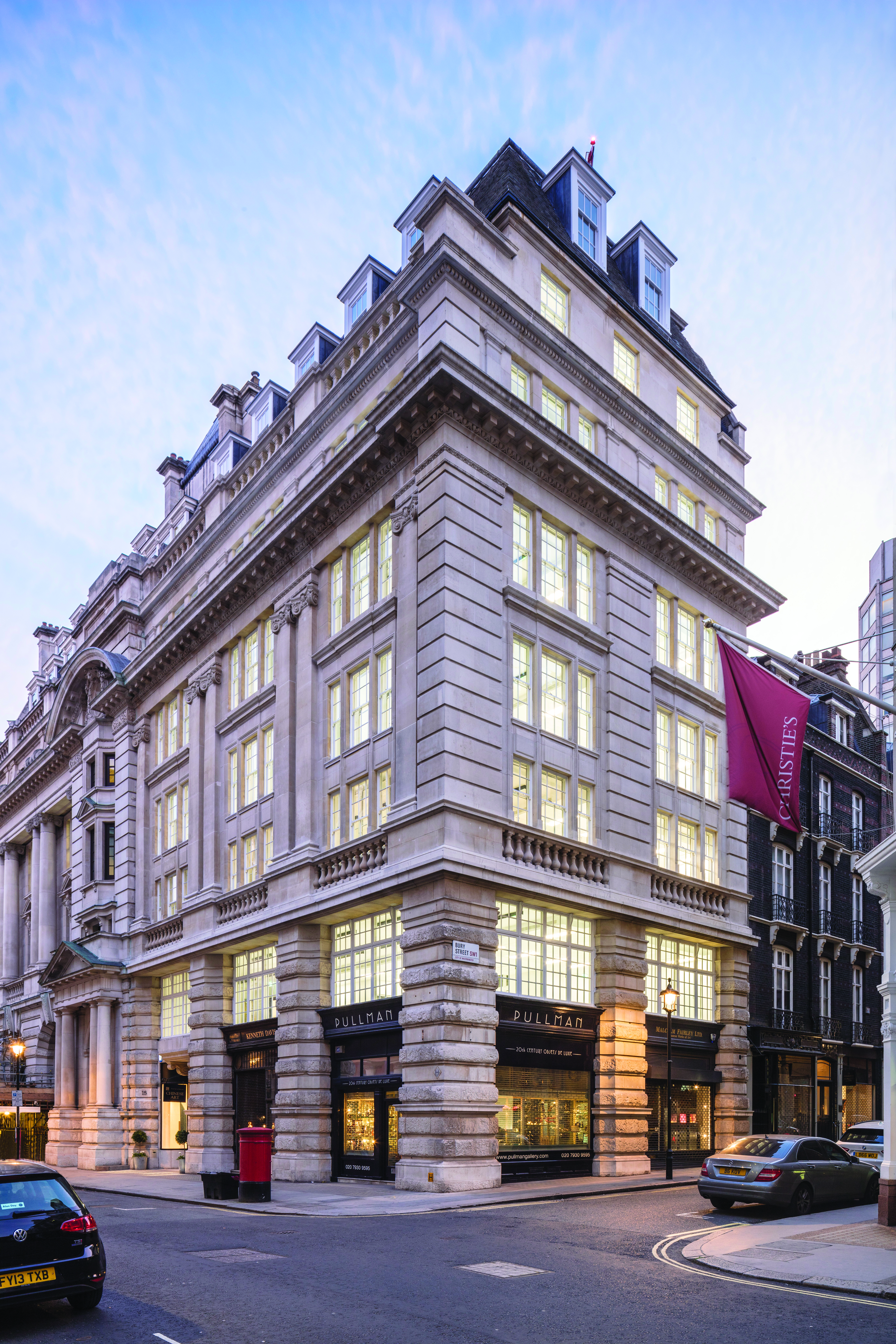 Mellersh advise the Crown Estate on letting 45% of 15 King Street within 3 months