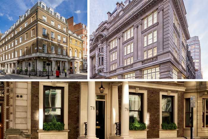 best office space in St James's London